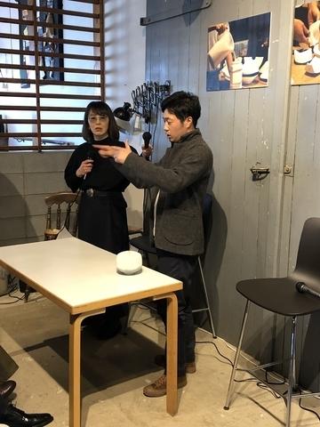 飛松灯器展_トークショー03